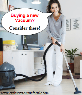 buy a new vacuum